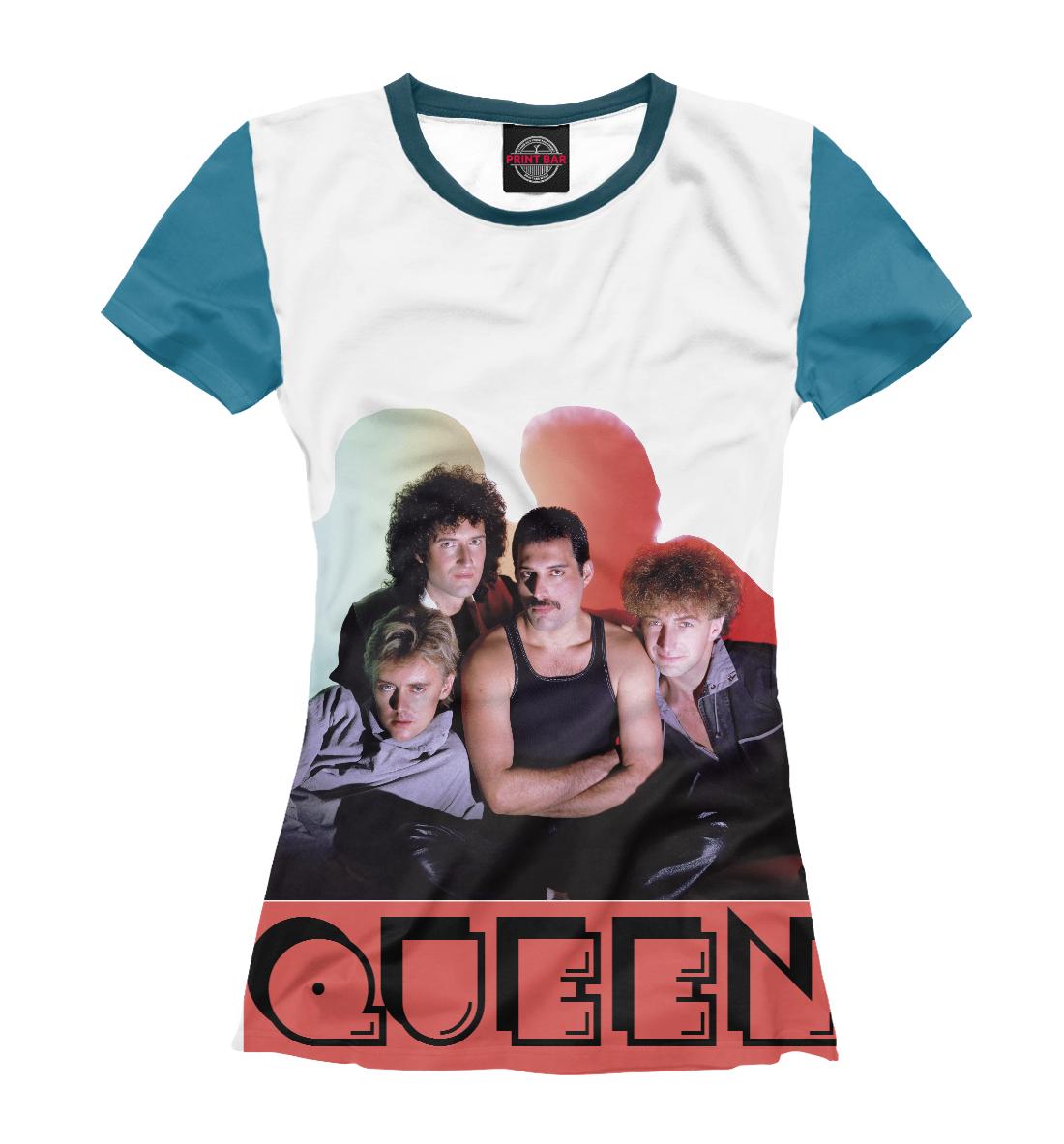 Купить Queen, Printbar, Футболки, MZK-827109-fut-1