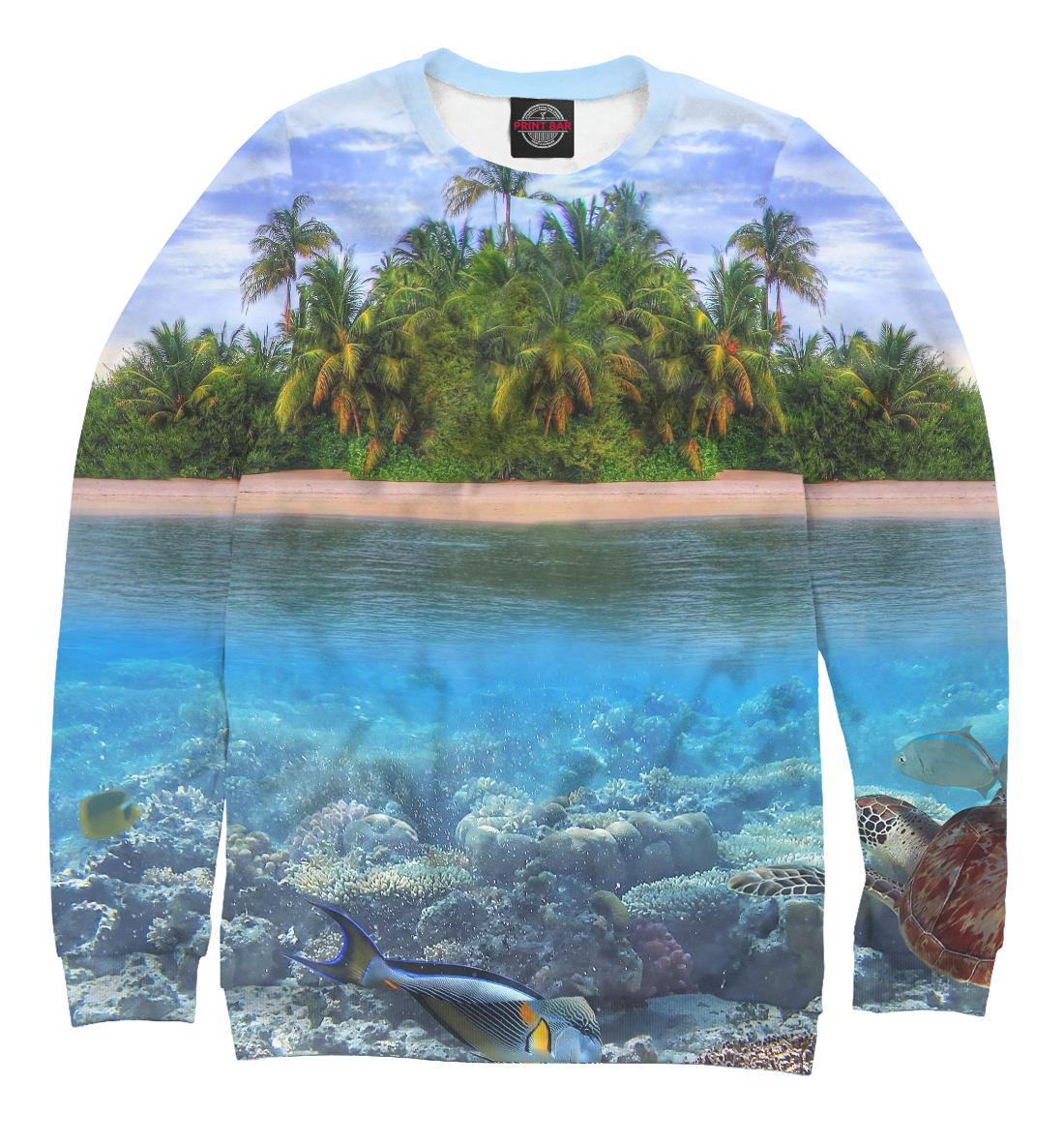 Купить Тропический остров, Printbar, Свитшоты, PEY-401053-swi-2