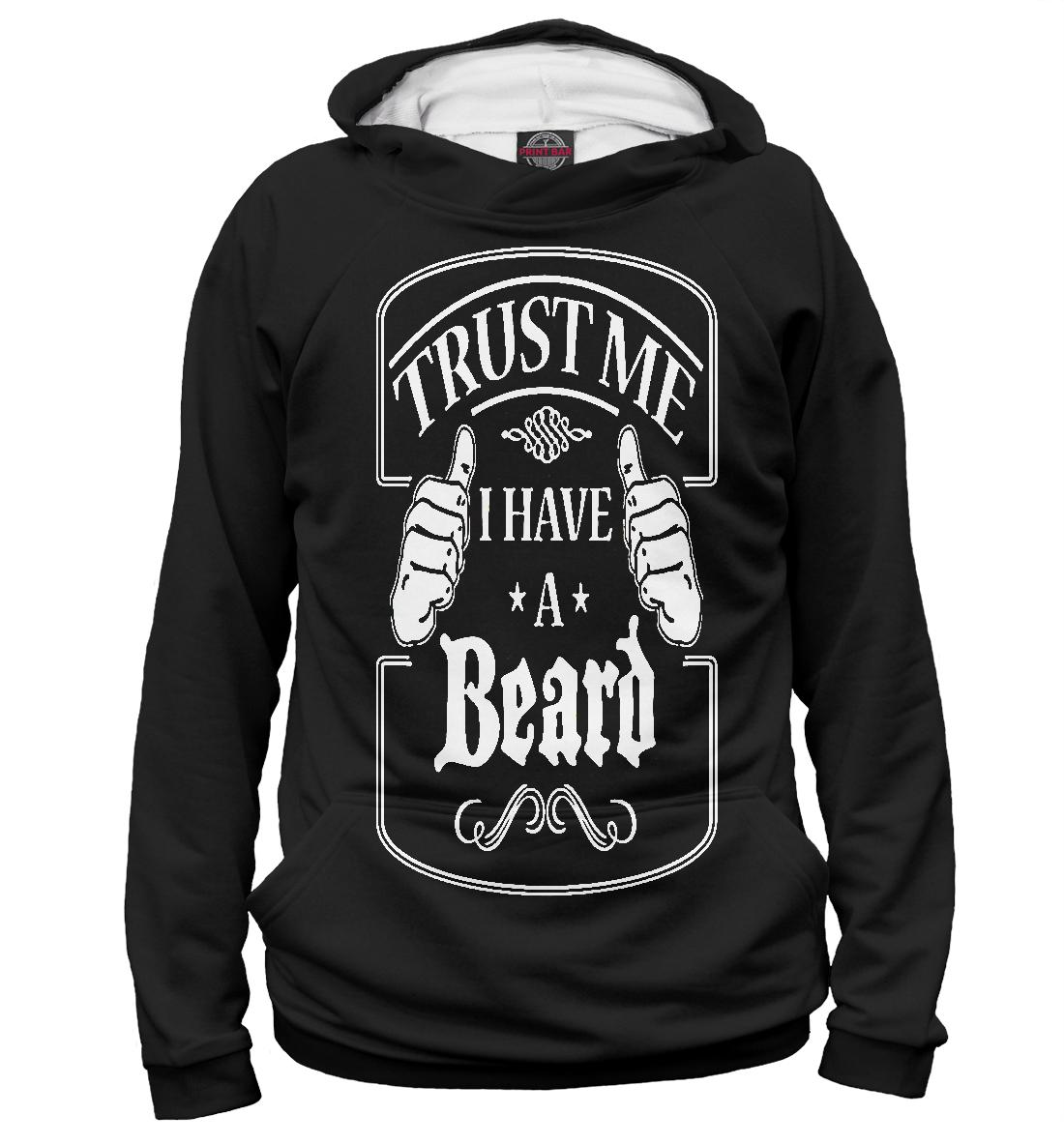 Купить Поверь мне у меня есть борода, Printbar, Худи, APD-981008-hud-1