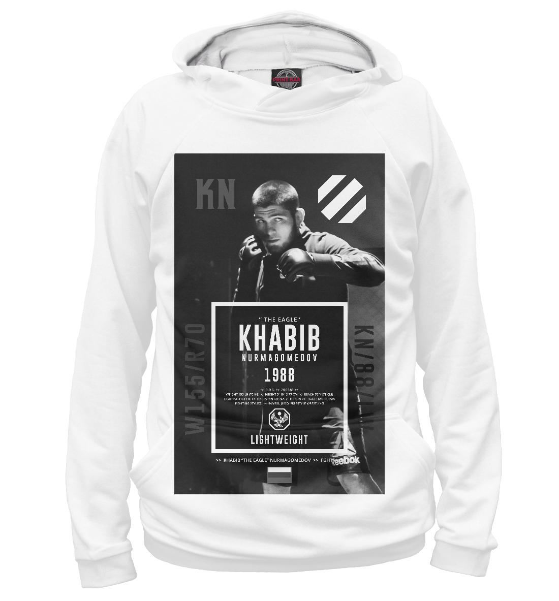 Купить Хабиб Нурмагомедов, Printbar, Худи, NUR-469957-hud-2