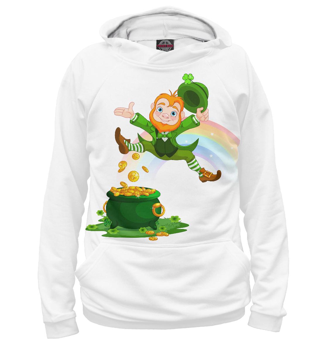 Купить Ирландия, Святой Патрик, Printbar, Худи, CTS-152136-hud-2