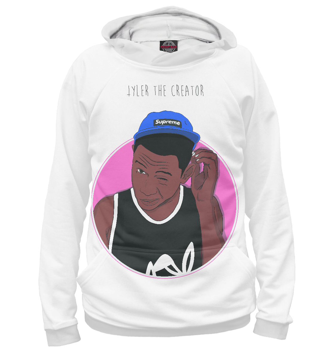 Купить Tyler The Creator, Printbar, Худи, MZK-842849-hud-1