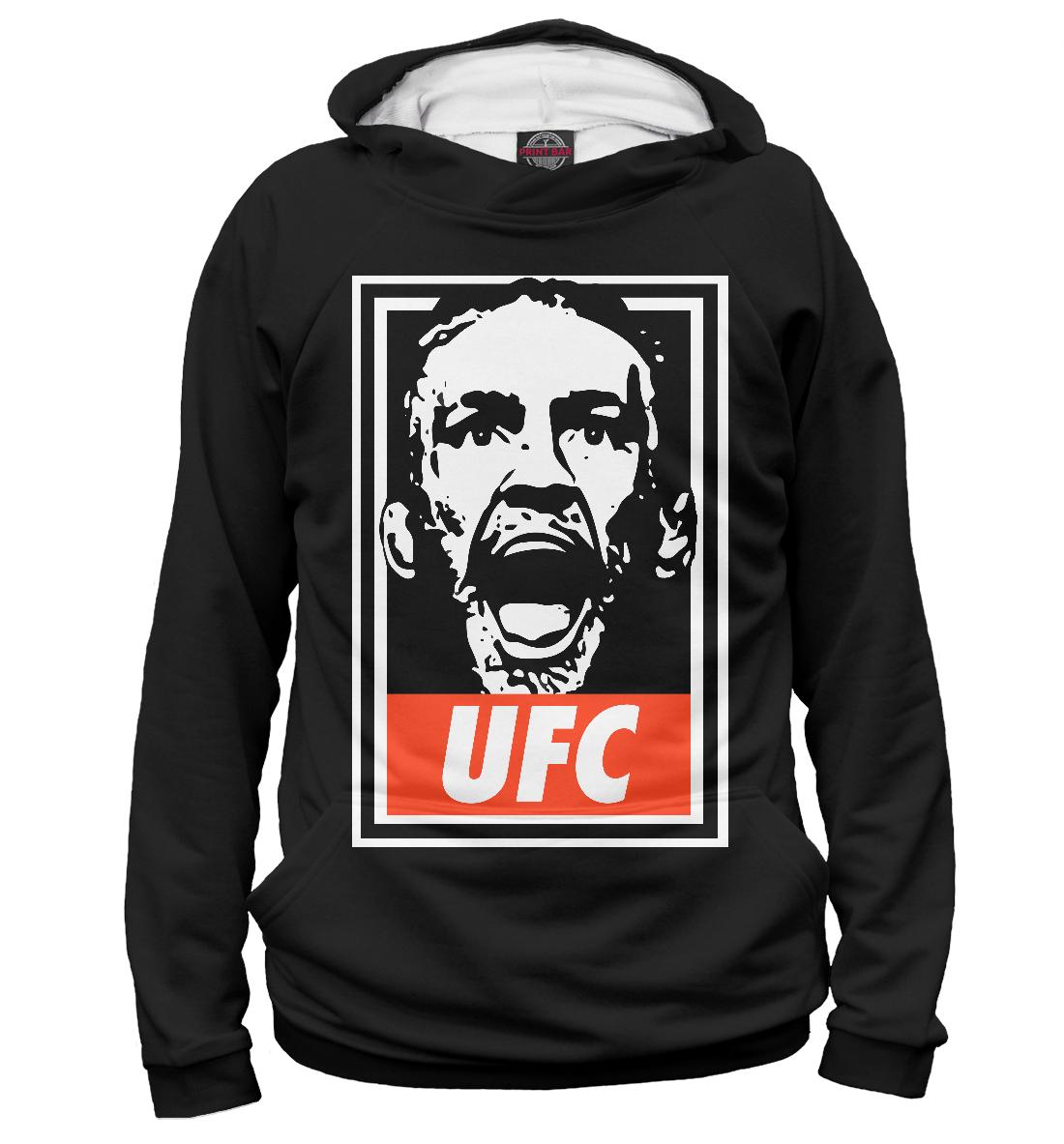 Купить UFC Obey Conor McGregor, Printbar, Худи, MCG-812157-hud-1