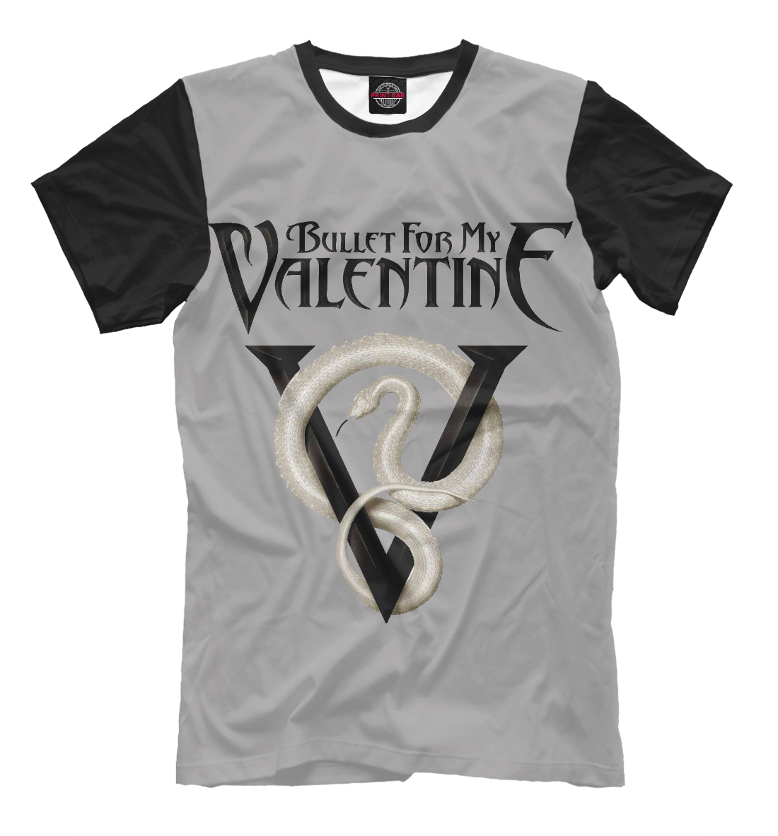 Купить Bullet for My Valentine Venom, Printbar, Футболки, BMV-399029-fut-2