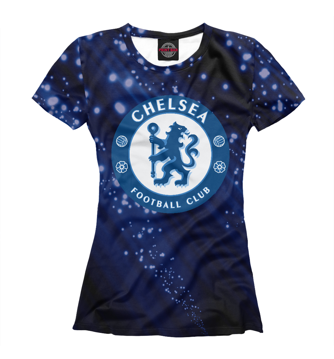 Купить FC Chelsea Abstract Collection, Printbar, Футболки, CHL-759262-fut-1