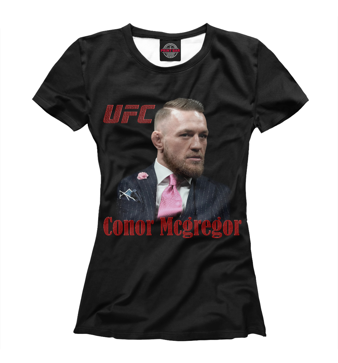 Купить Конор МакГрегор - UFC Fight Club, Printbar, Футболки, MCG-134612-fut-1