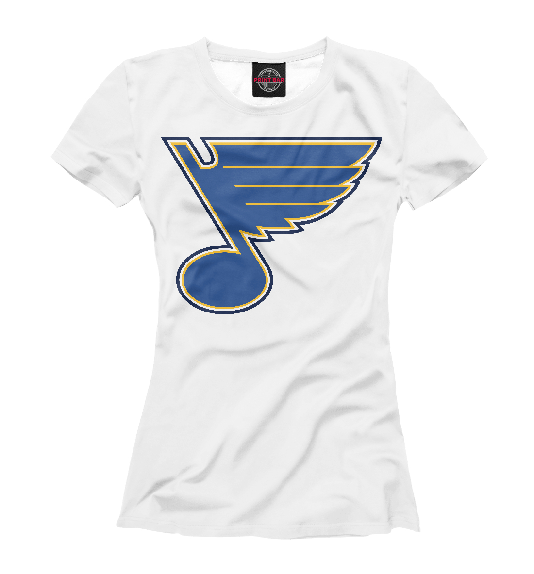Купить Saint Louis Blues, Printbar, Футболки, HOK-856355-fut-1
