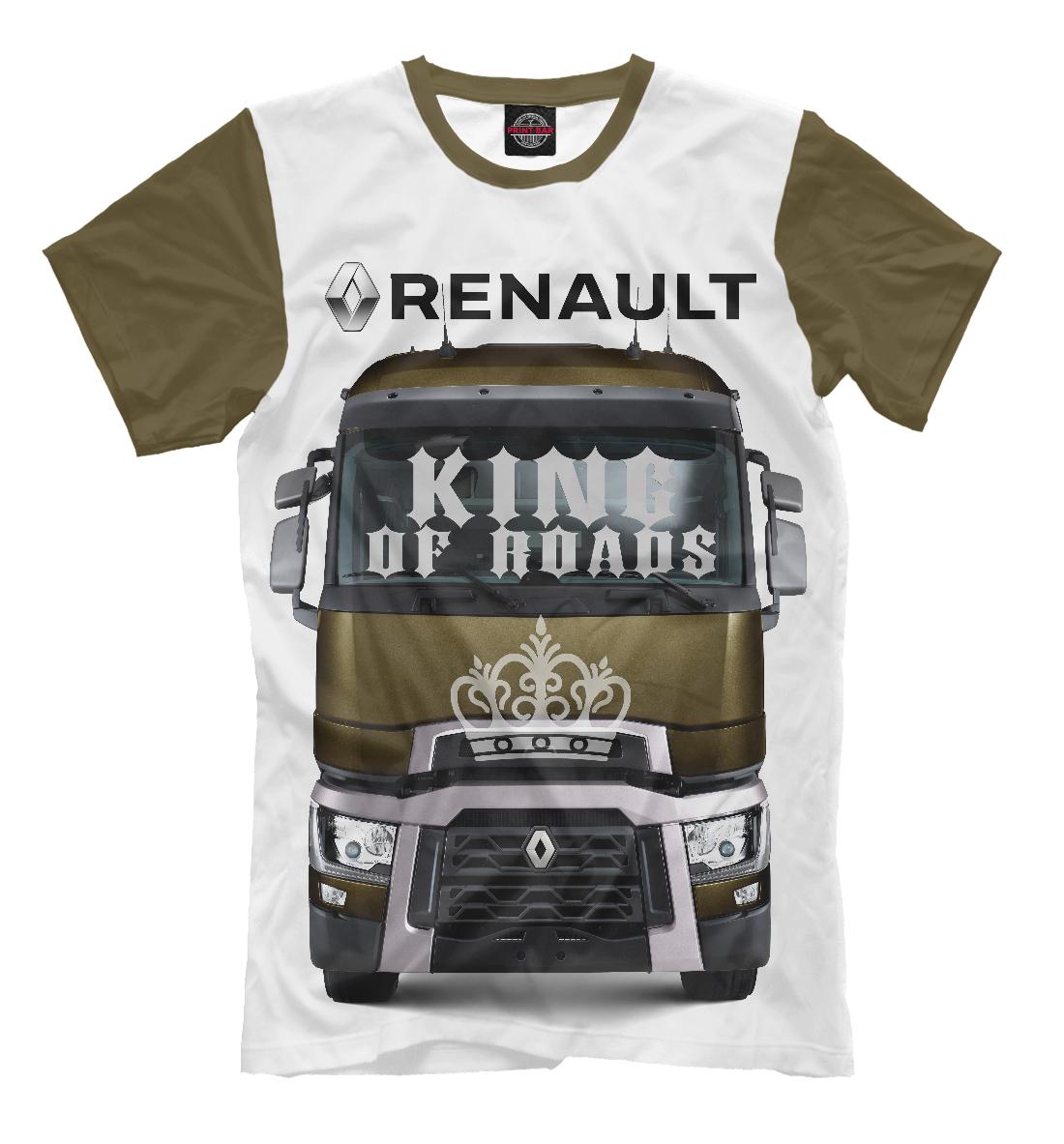 Купить RENAULT - король дорог, Printbar, Футболки, GRZ-918078-fut-2