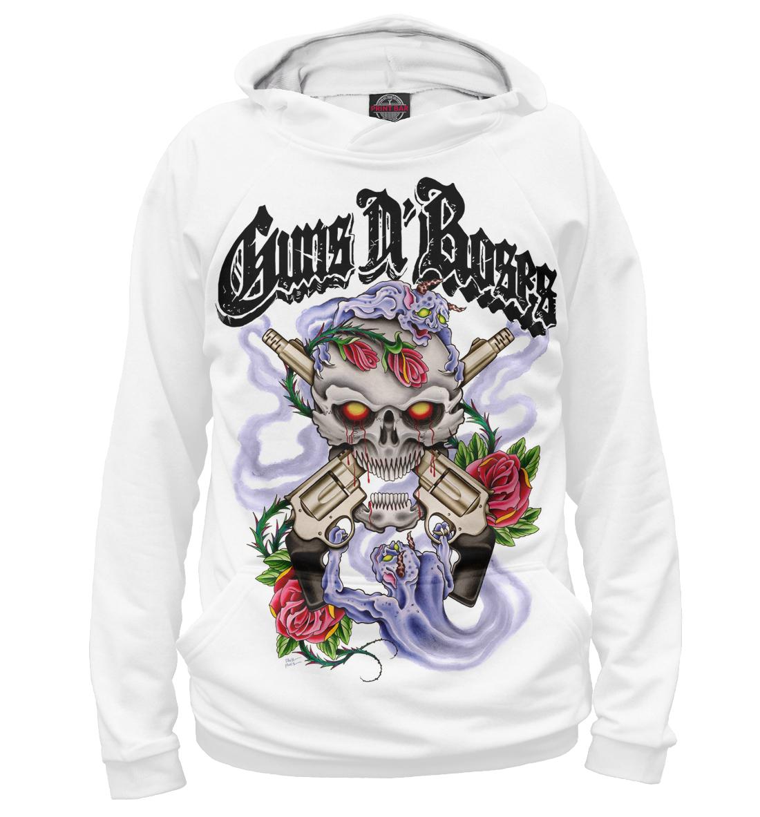 Купить Guns N'Roses, Printbar, Худи, GNR-280938-hud-2