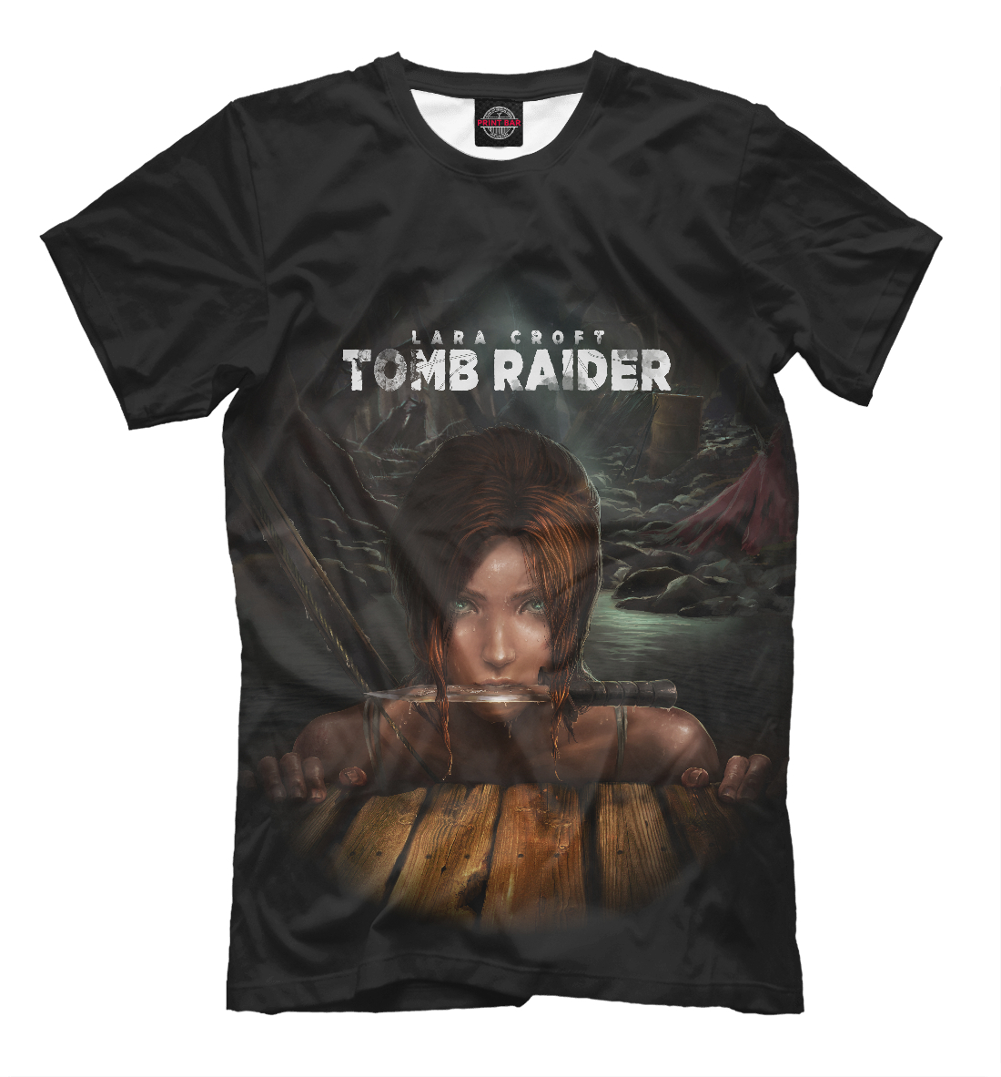 Купить Tomb RAIDER, Printbar, Футболки, TBR-853731-fut-2