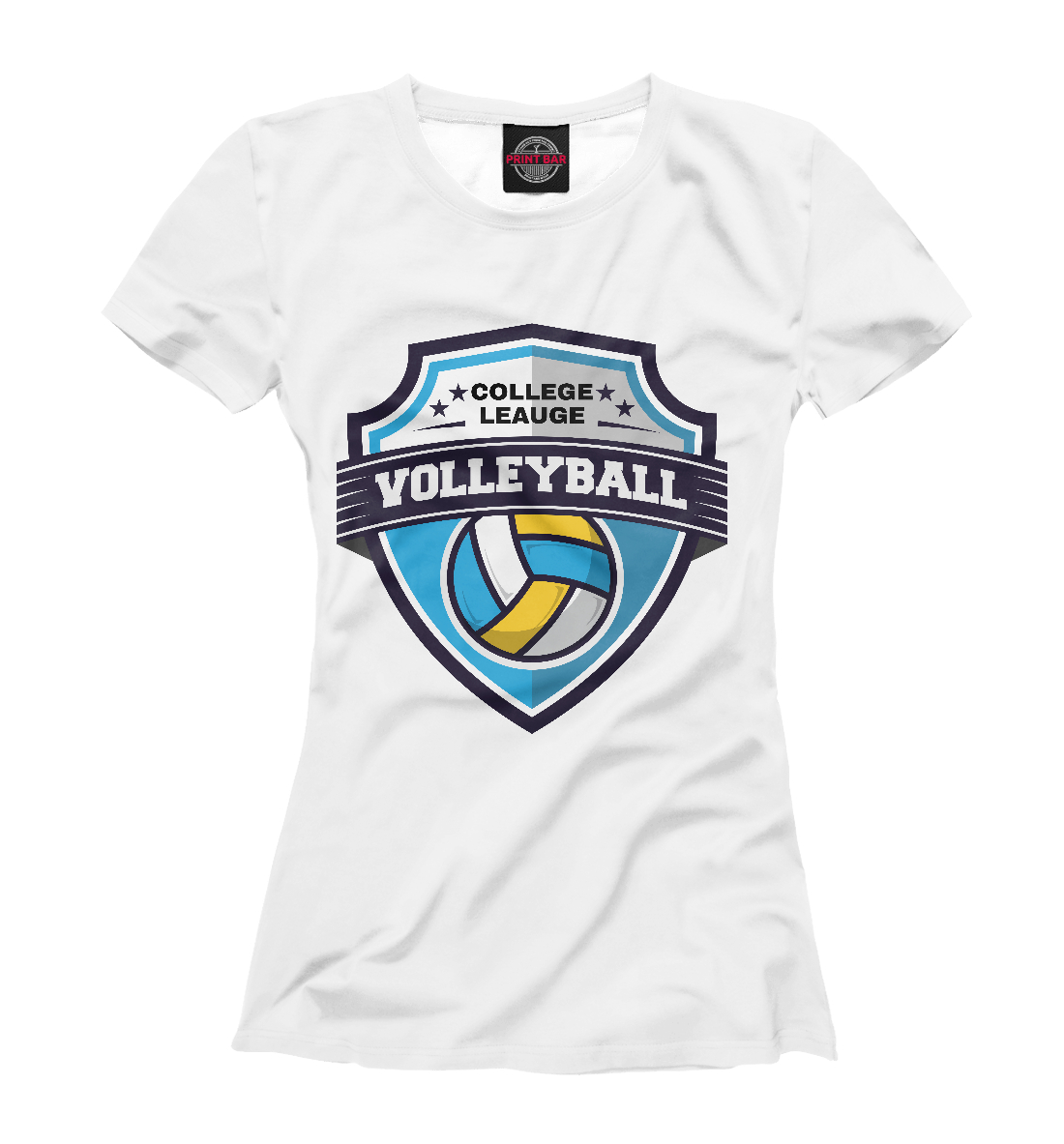 Купить Volleyball, Printbar, Футболки, VLB-745031-fut-1