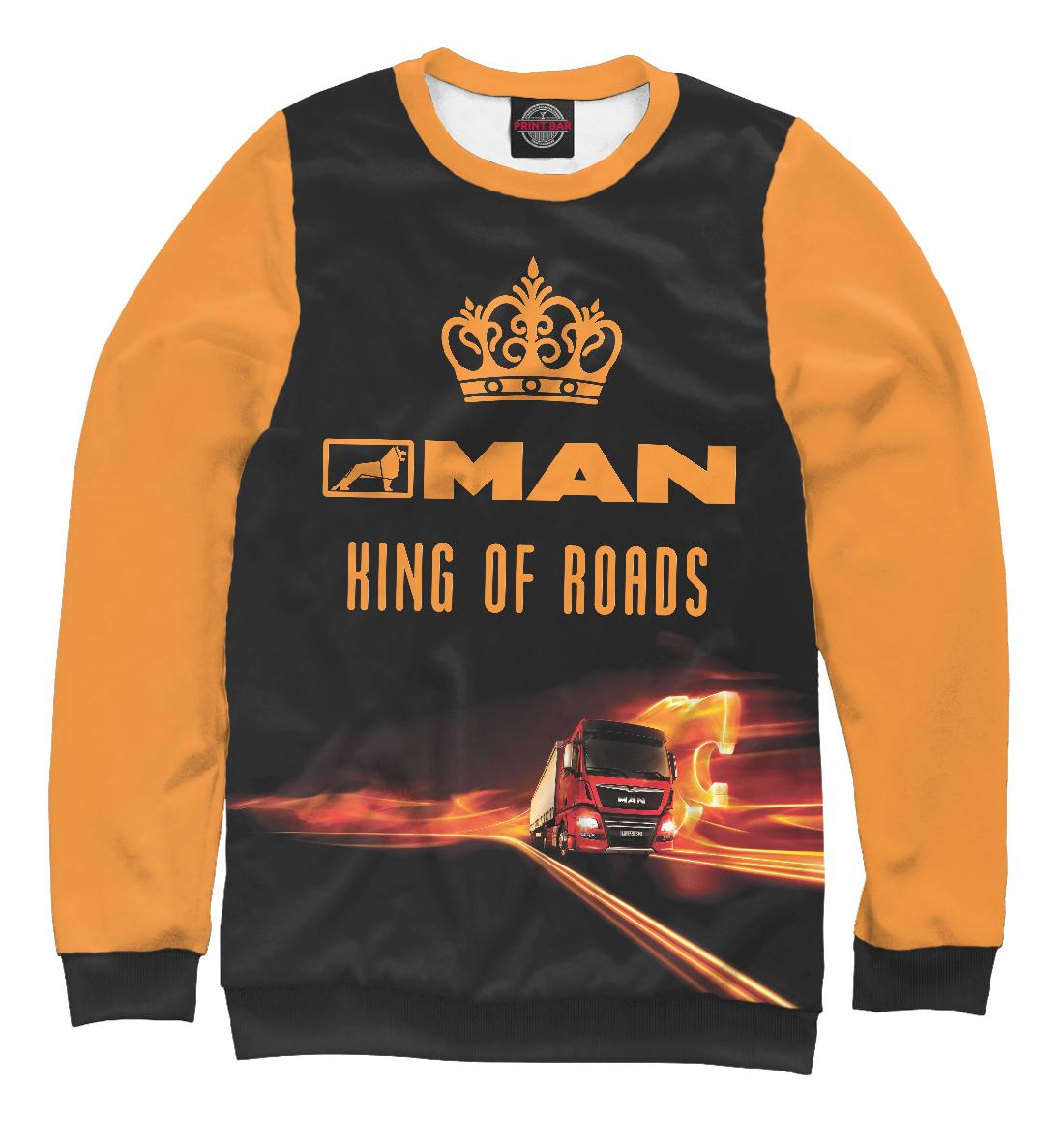 MAN - король дорог, Printbar, Свитшоты, GRZ-376133-swi-2  - купить со скидкой