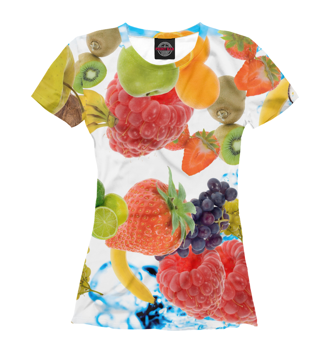 Купить Сочные ягоды и фрукты, Printbar, Футболки, EDA-323893-fut-1