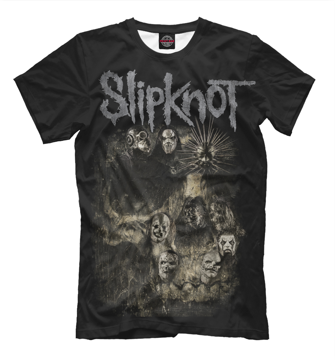Купить Slipknot, Printbar, Футболки, SLI-884745-fut-2
