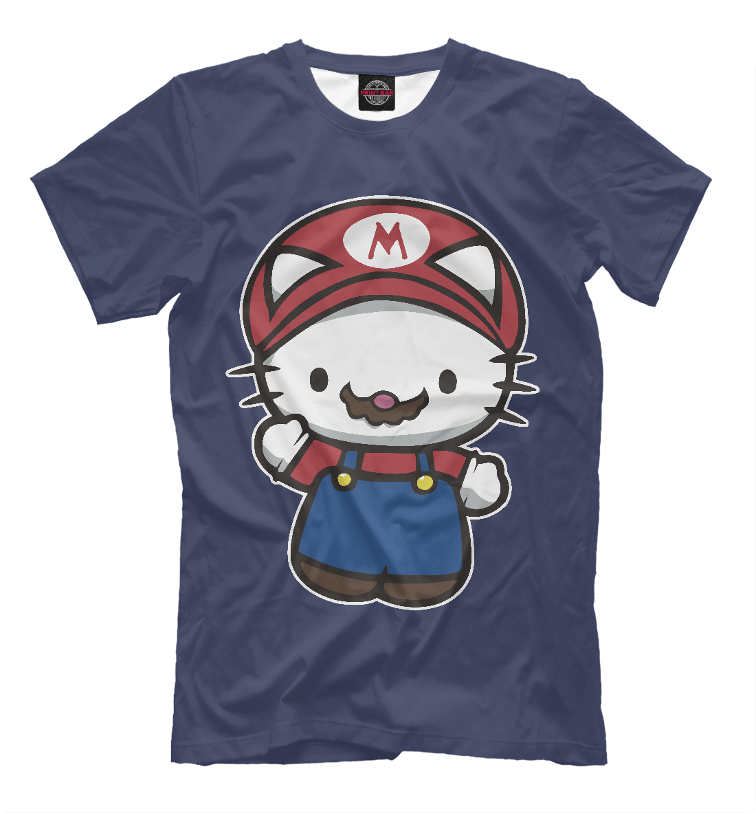 Купить Kitty Mario, Printbar, Футболки, HLK-885717-fut-2