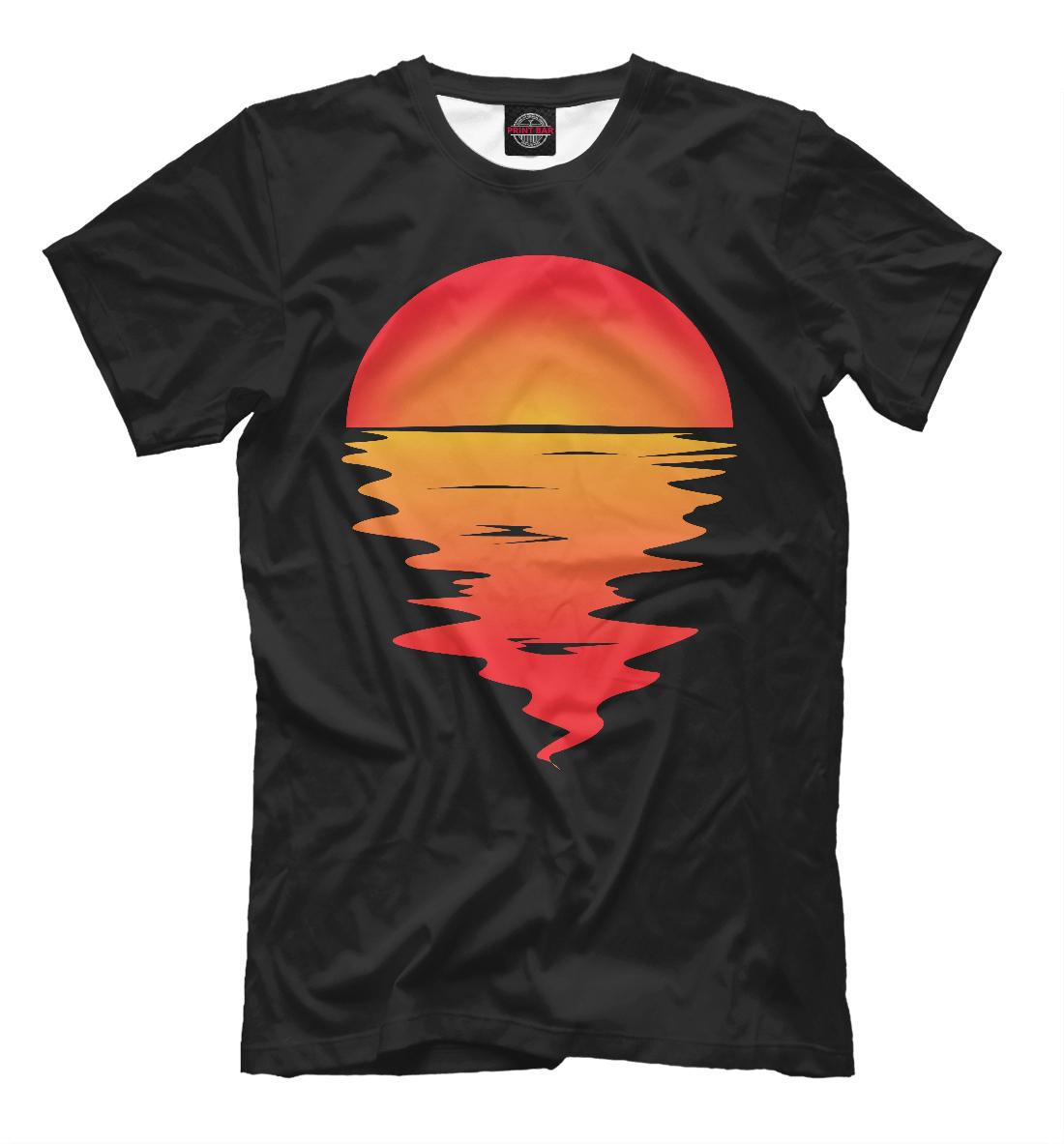 Купить Sunset, Printbar, Футболки, SUN-868166-fut-2