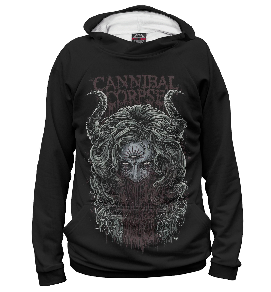 Купить Cannibal Corpse, Printbar, Худи, MZK-566568-hud-2