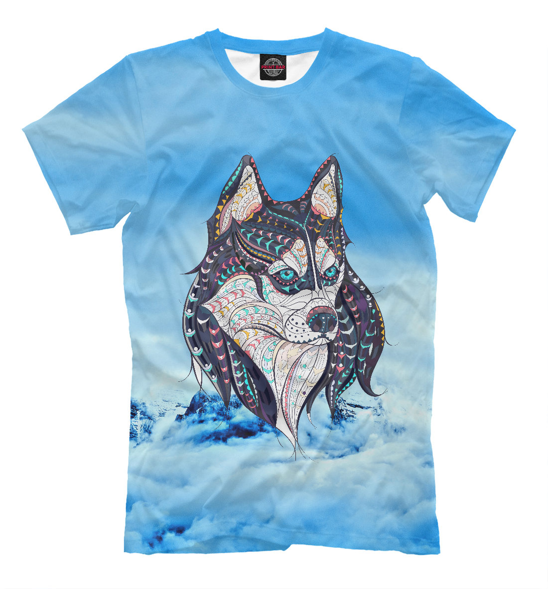 Купить Siberian Husky, Printbar, Футболки, DOG-759984-fut-2