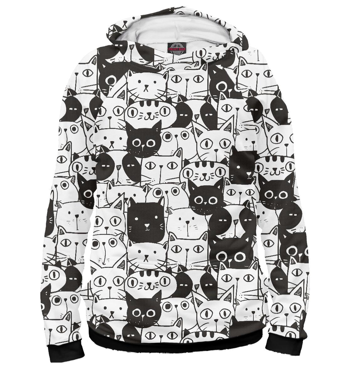 Купить Миллион котов, Printbar, Худи, CAT-569448-hud-2