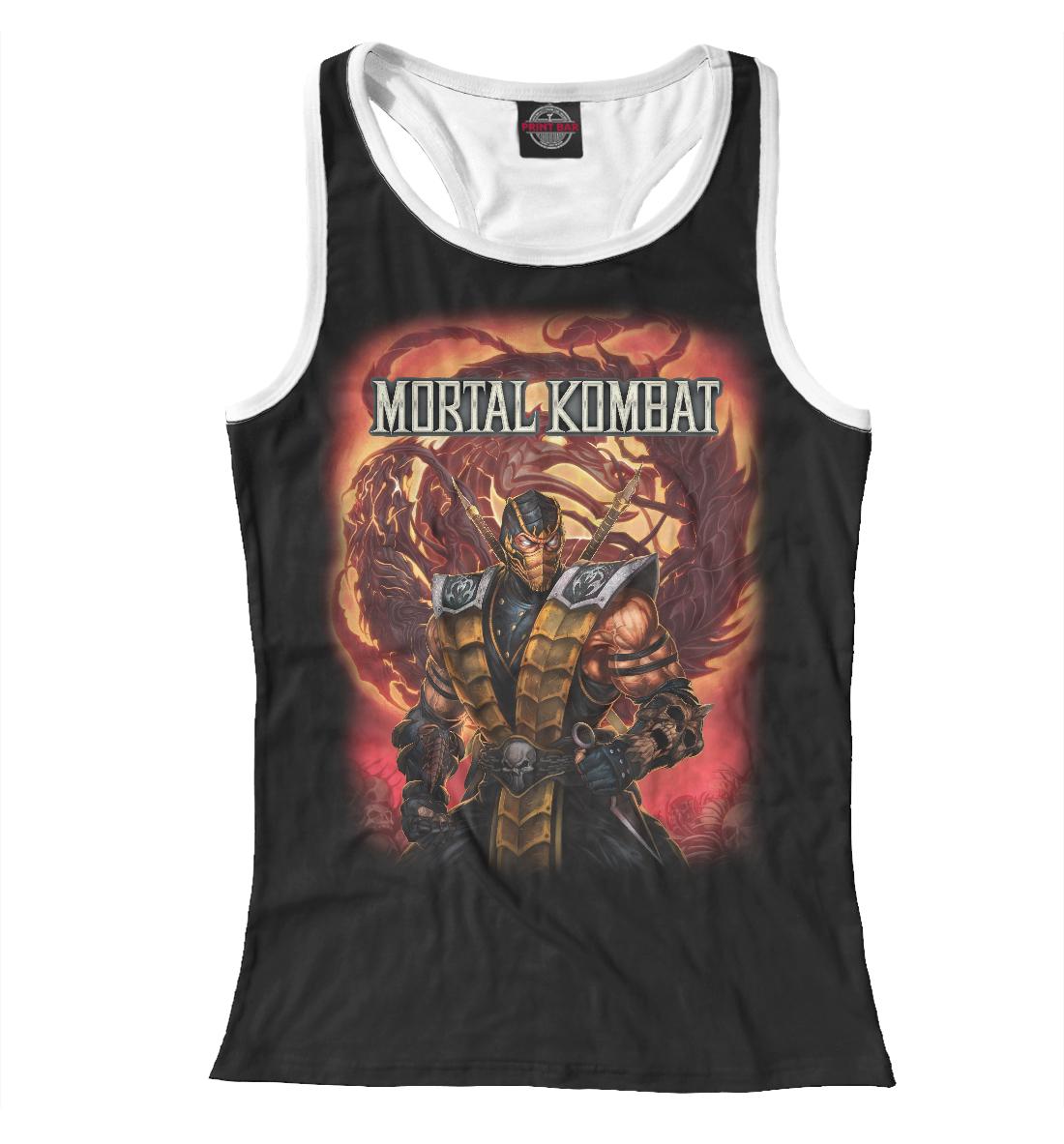 Купить Mortal Kombat, Printbar, Майки борцовки, MKB-751921-mayb-1