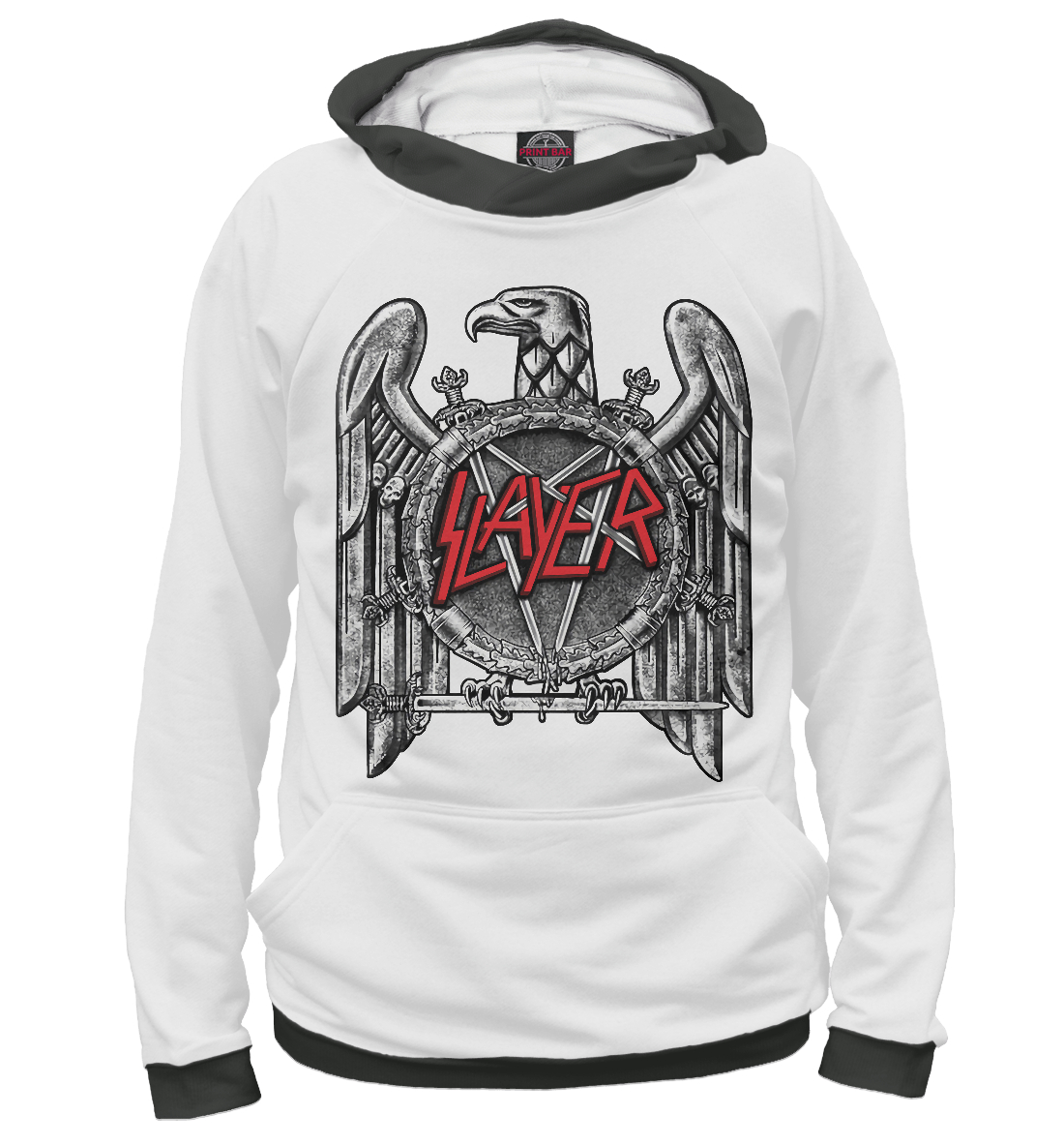 Купить Slayer, Printbar, Худи, SLR-334237-hud-1