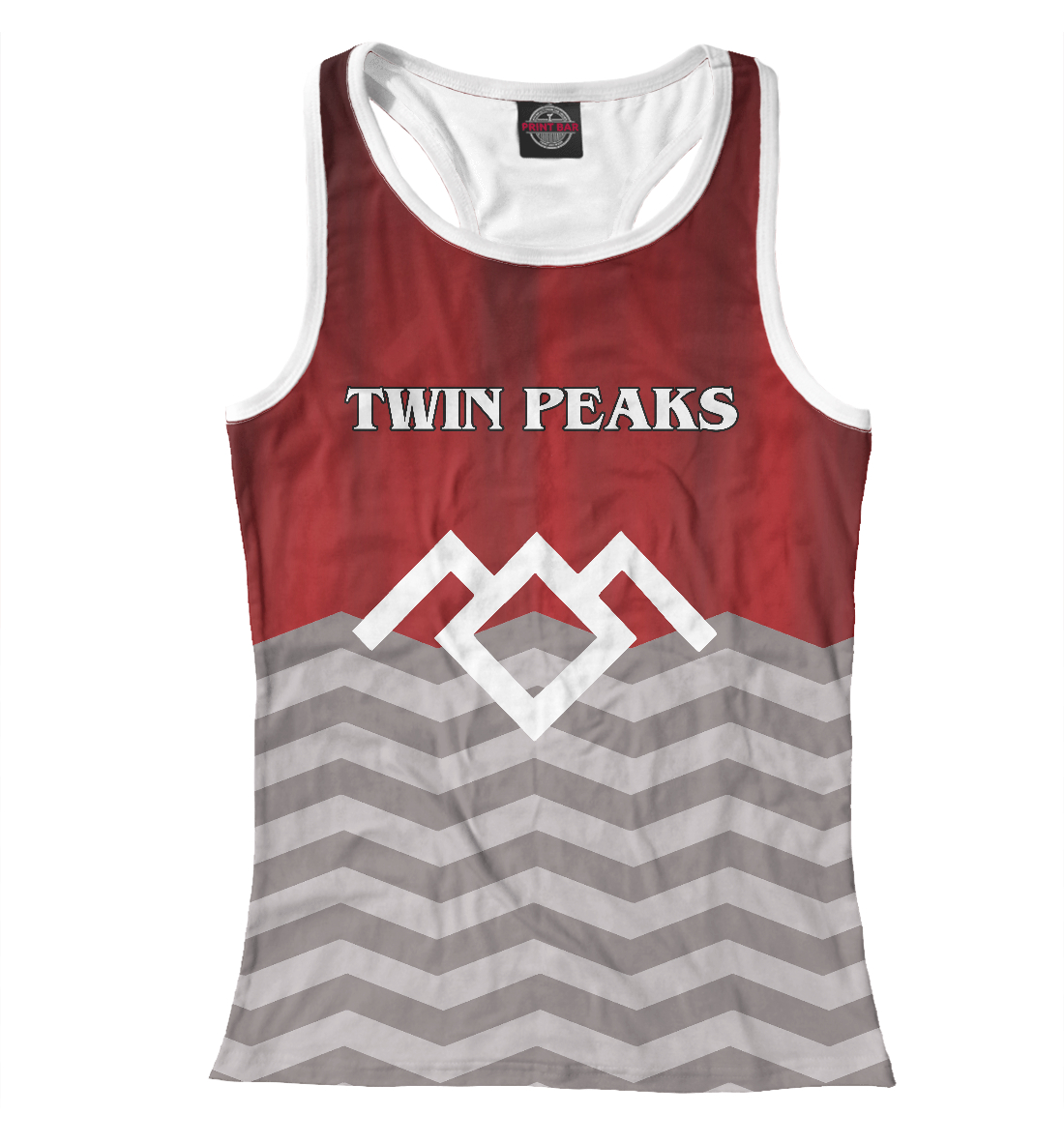 Купить Twin Peaks, Printbar, Майки борцовки, TPS-140278-mayb-1