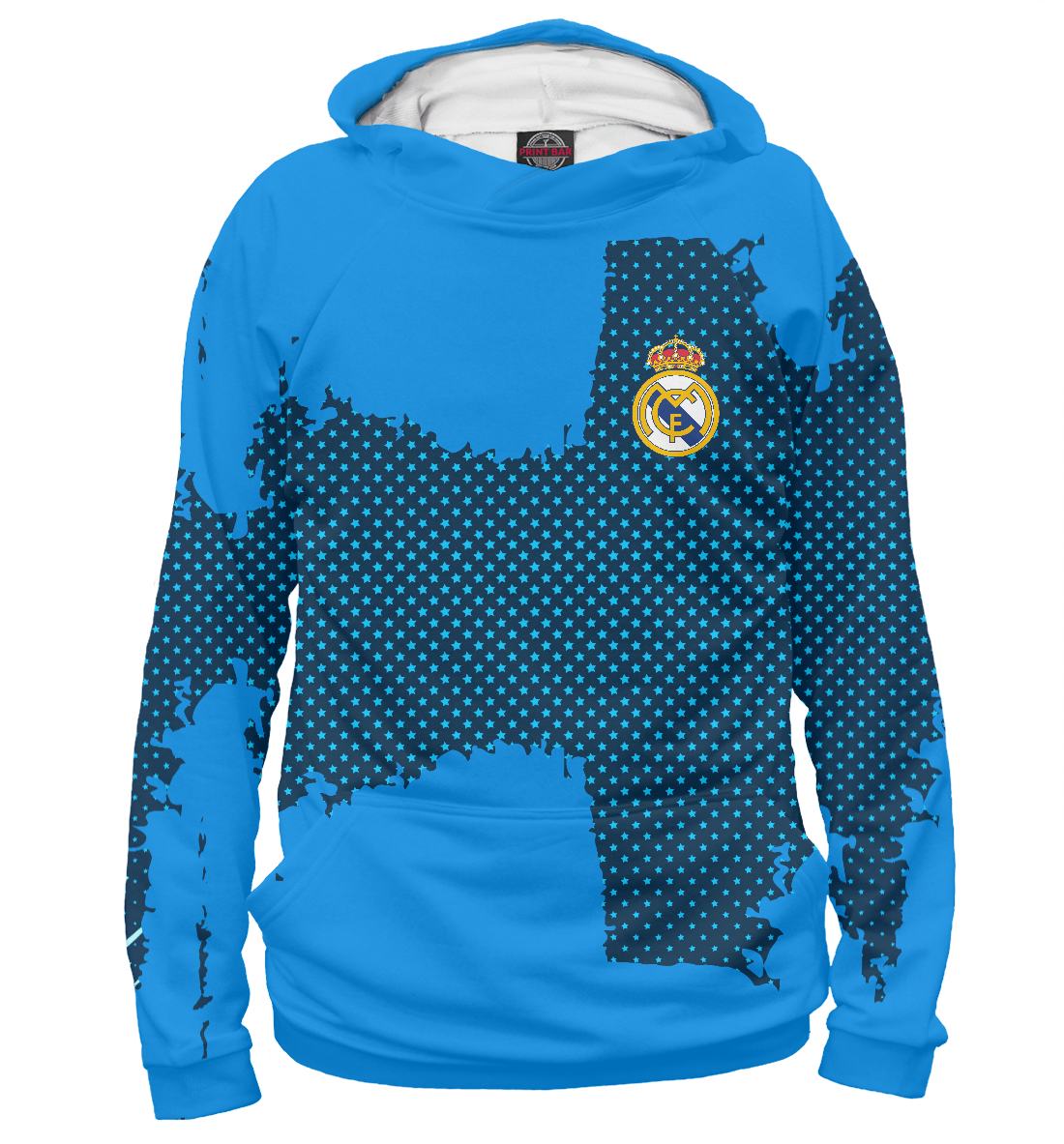 Купить Real Madrid sport uniform, Printbar, Худи, REA-857092-hud-1