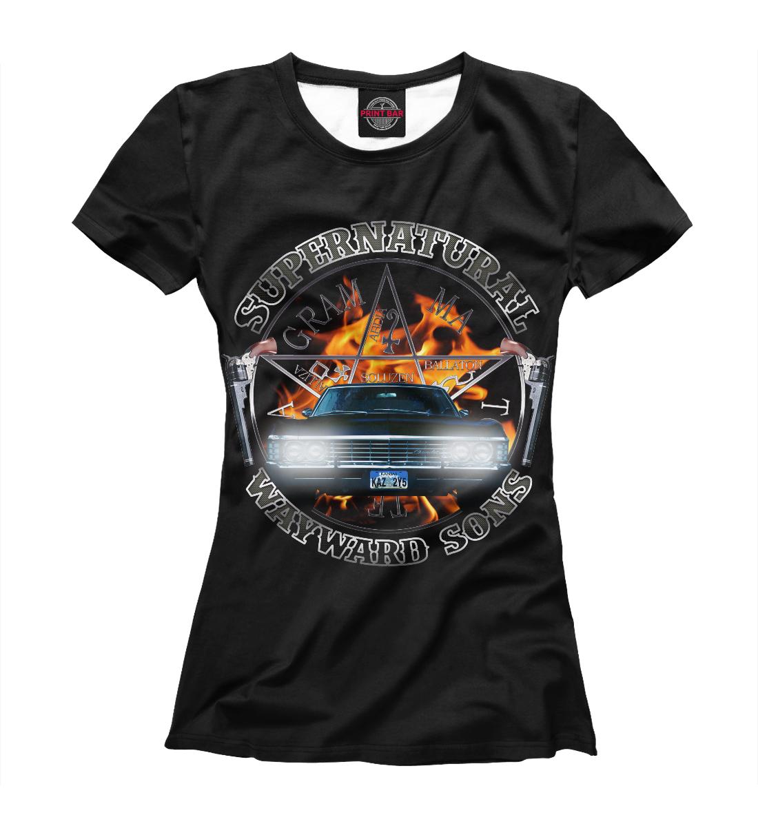 Купить Supernatural, Printbar, Футболки, SVE-381336-fut-1