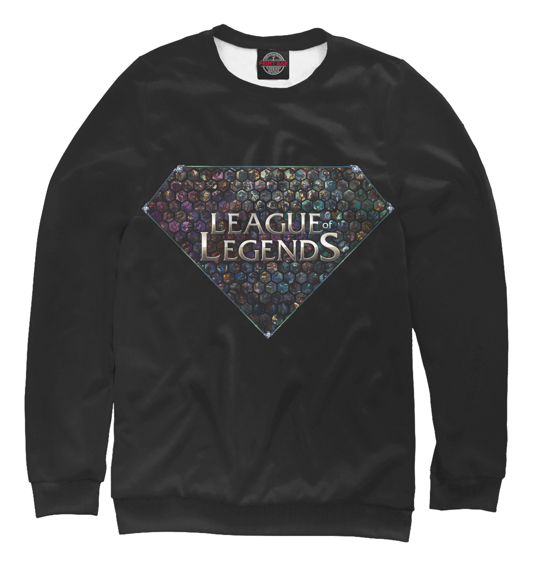 Купить League of Legends, Printbar, Свитшоты, LOL-248143-swi-1