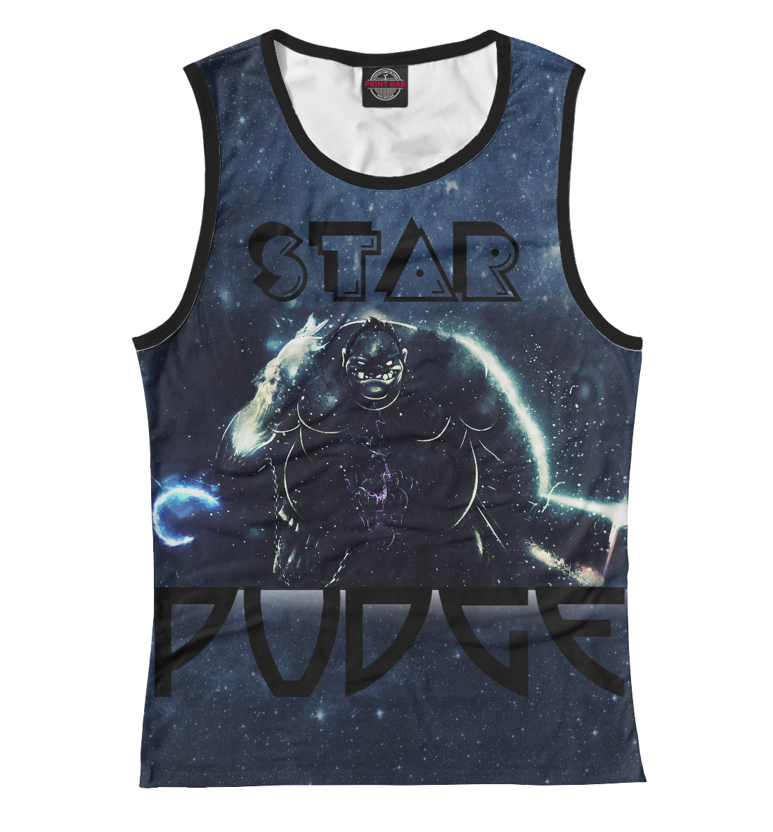 Купить Звёздный Пудж (Star Pudge), Printbar, Майки, DO2-935955-may-1