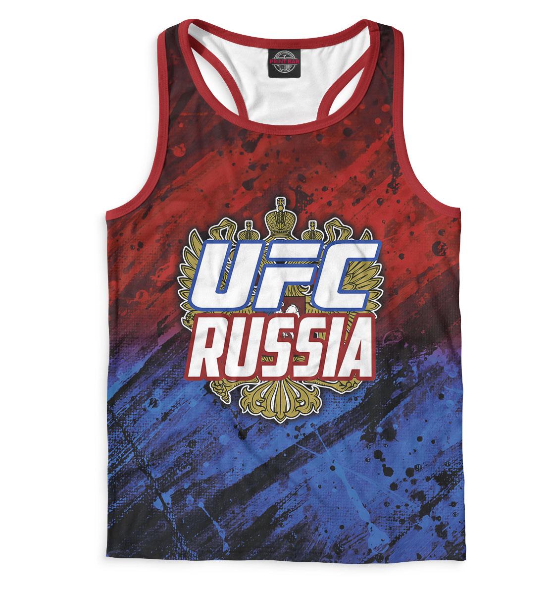 Купить UFC Russia, Printbar, Майки борцовки, MNU-281580-mayb-2