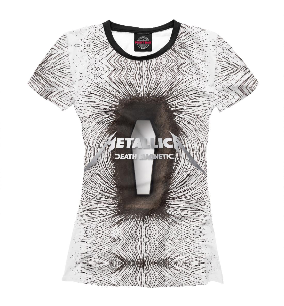 Купить Metallica Death Magnetic, Printbar, Футболки, MET-242597-fut-1
