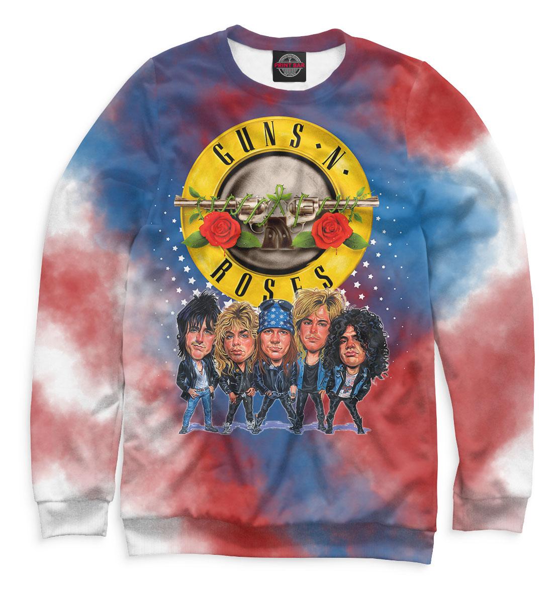 Купить Guns N' Roses, Printbar, Свитшоты, GNR-329135-swi-1