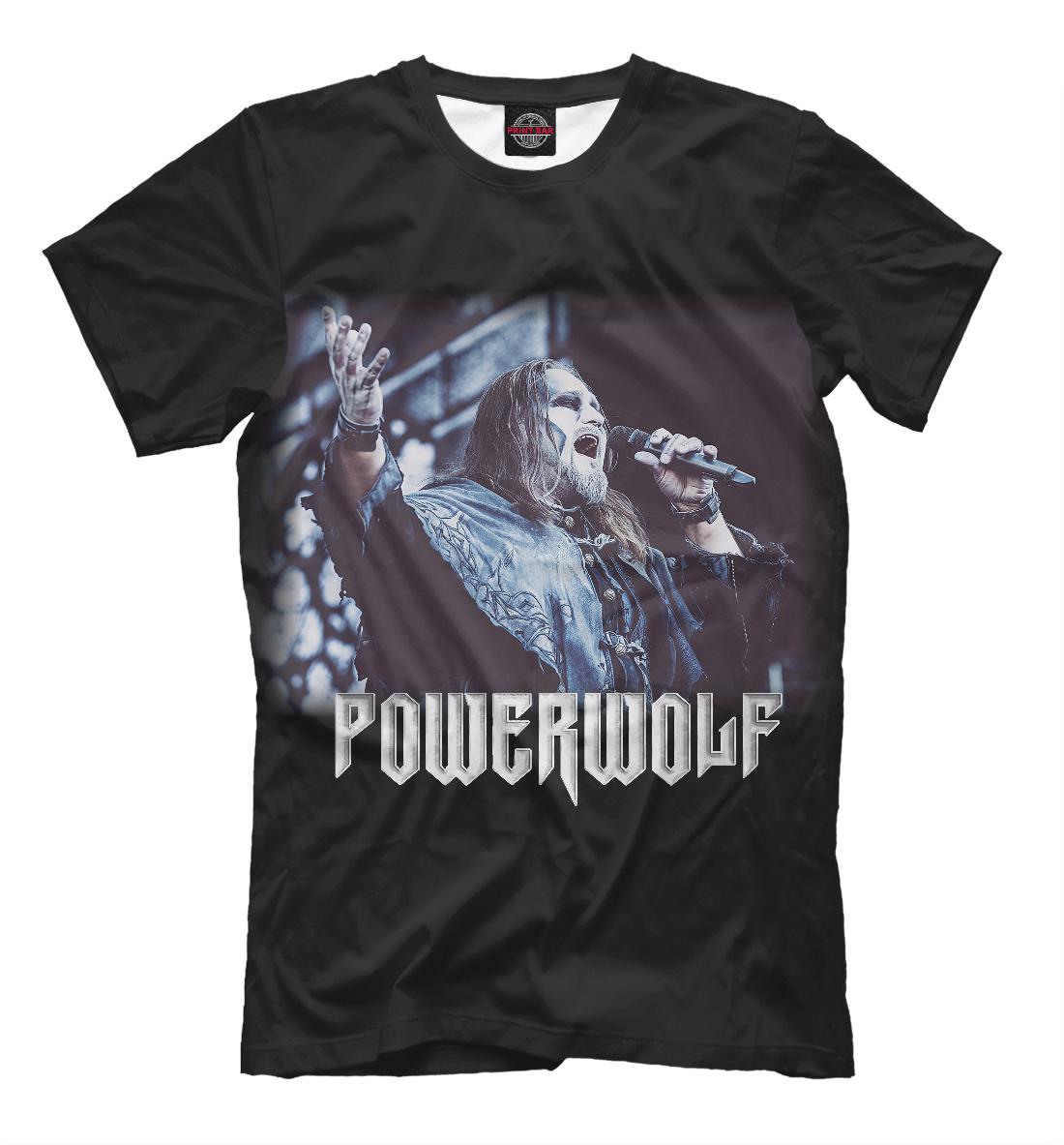 Купить Powerwolf - Attila Dorn, Printbar, Футболки, PWF-453531-fut-2