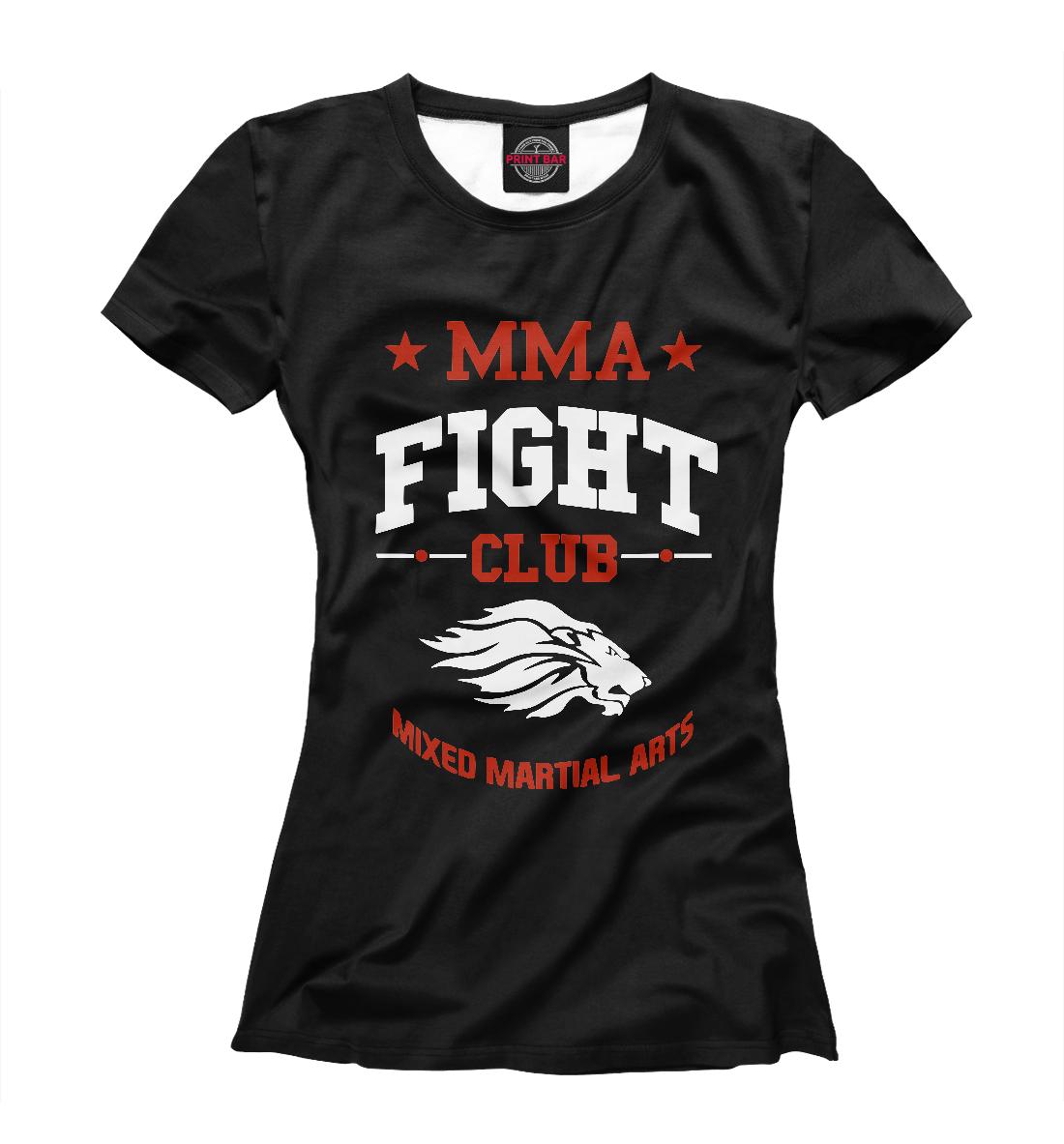 Купить MMA Fight Club, Printbar, Футболки, MNU-775677-fut-1