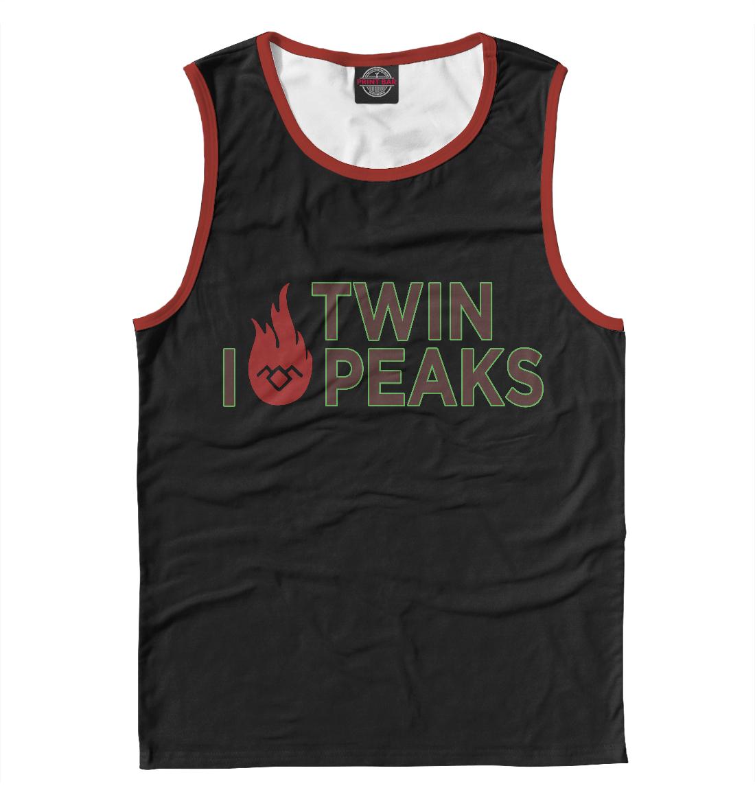 Купить I Love Twin Peaks, Printbar, Майки, TPS-723409-may-2