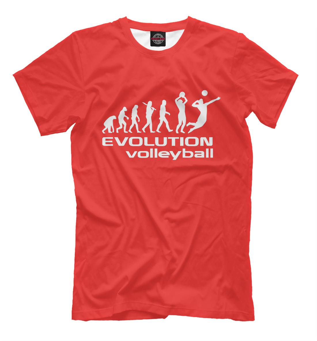 Evolution (volleyball), Printbar, Футболки, VLB-532402-fut-2  - купить со скидкой