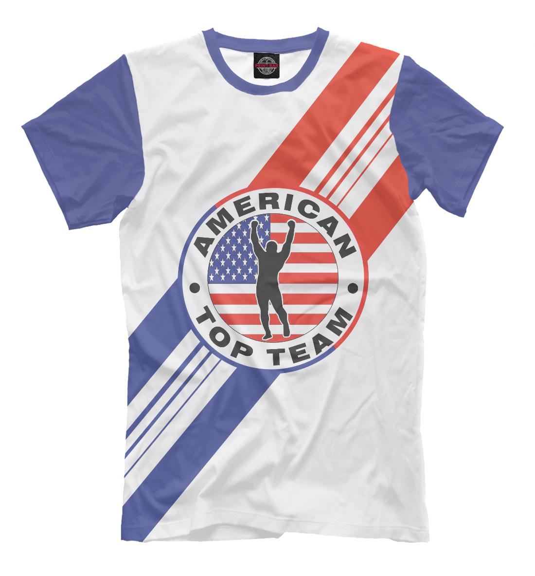 Купить American Top Team, Printbar, Футболки, MNU-219485-fut-2