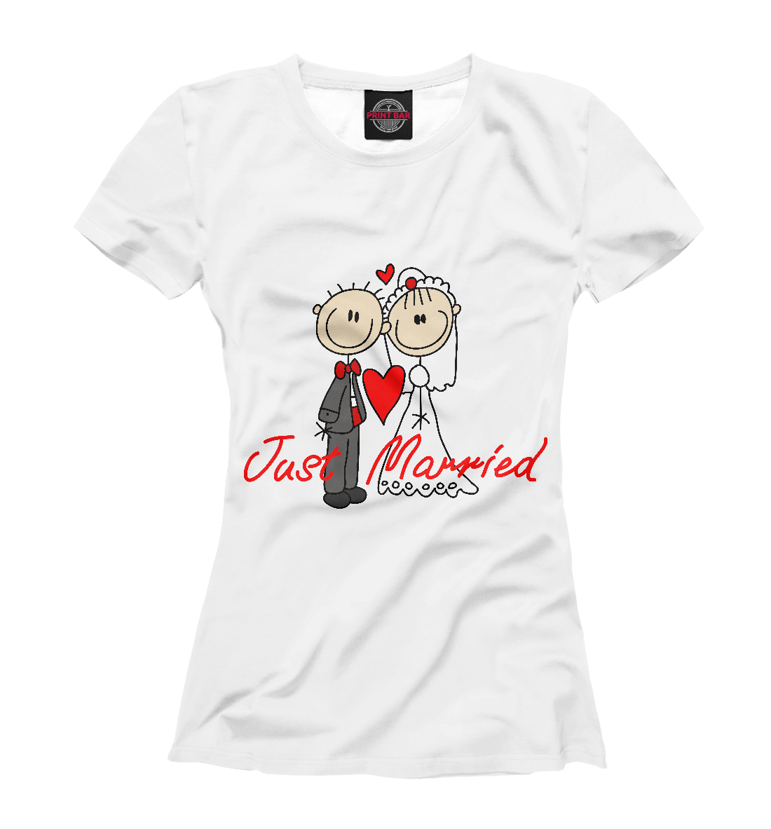 Just Married футболка just married женская
