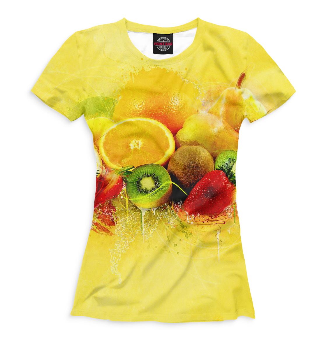 Купить Фрукты и ягоды, Printbar, Футболки, EDA-522127-fut-1