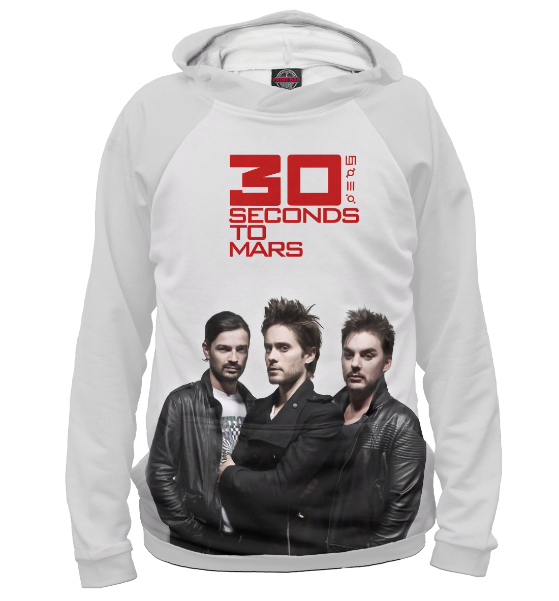 Купить Thirty Seconds to Mars, Printbar, Худи, 30S-770012-hud-1