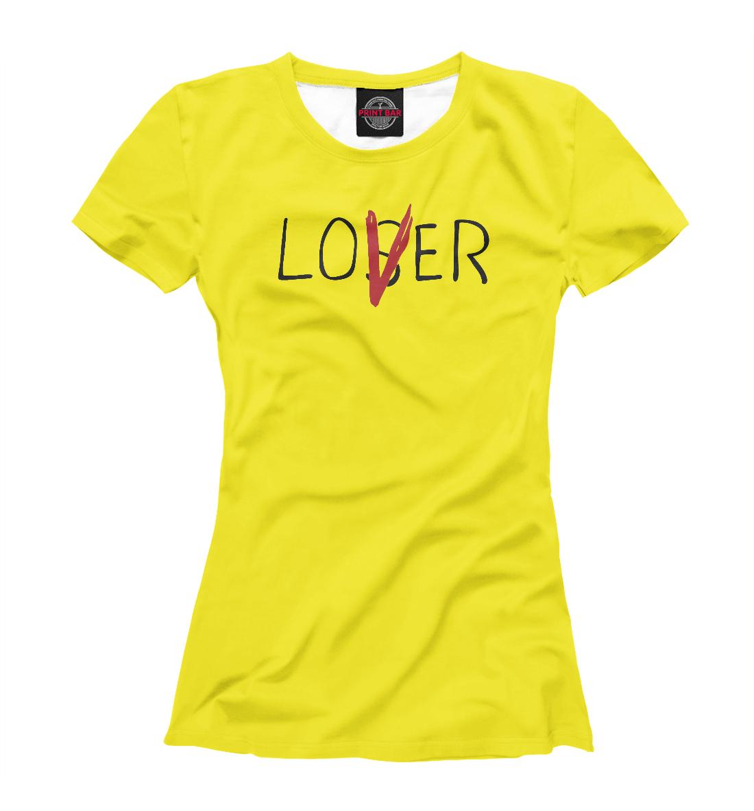 Купить Loser / Lover Оно, Printbar, Футболки, ONO-769901-fut-1