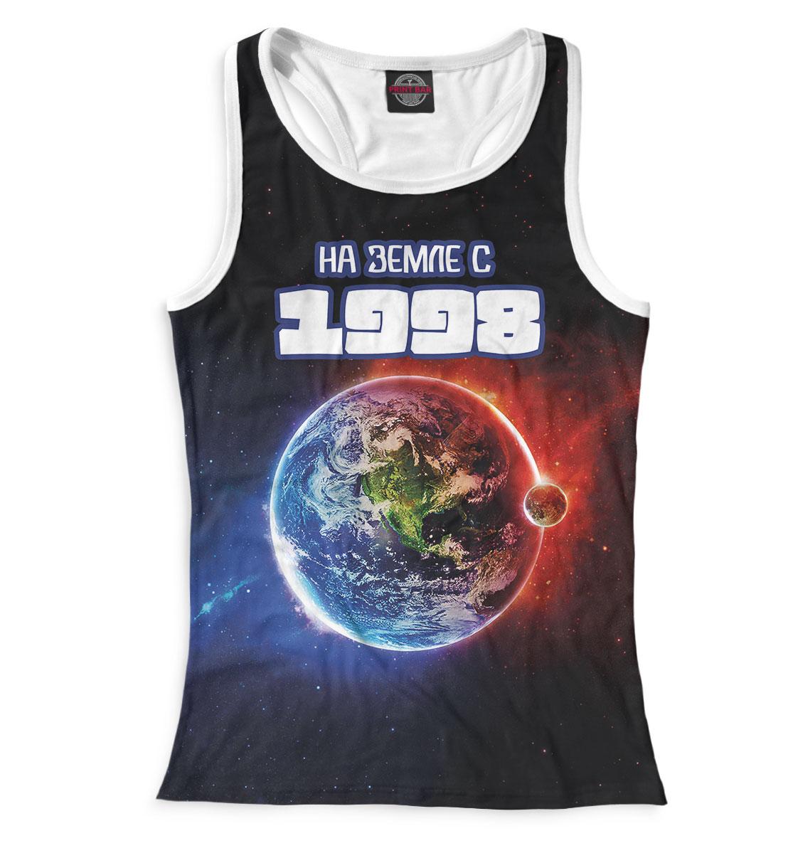 Купить На Земле с 1998, Printbar, Майки борцовки, DDM-580429-mayb-1