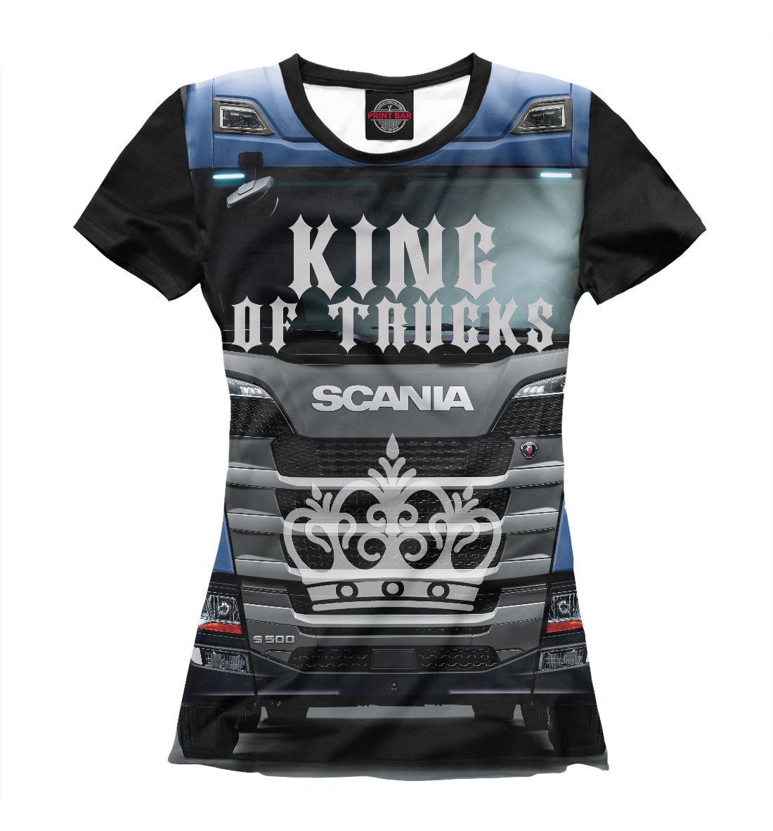 SCANIA - король грузовиков, Printbar, Футболки, GRZ-768093-fut-1  - купить со скидкой