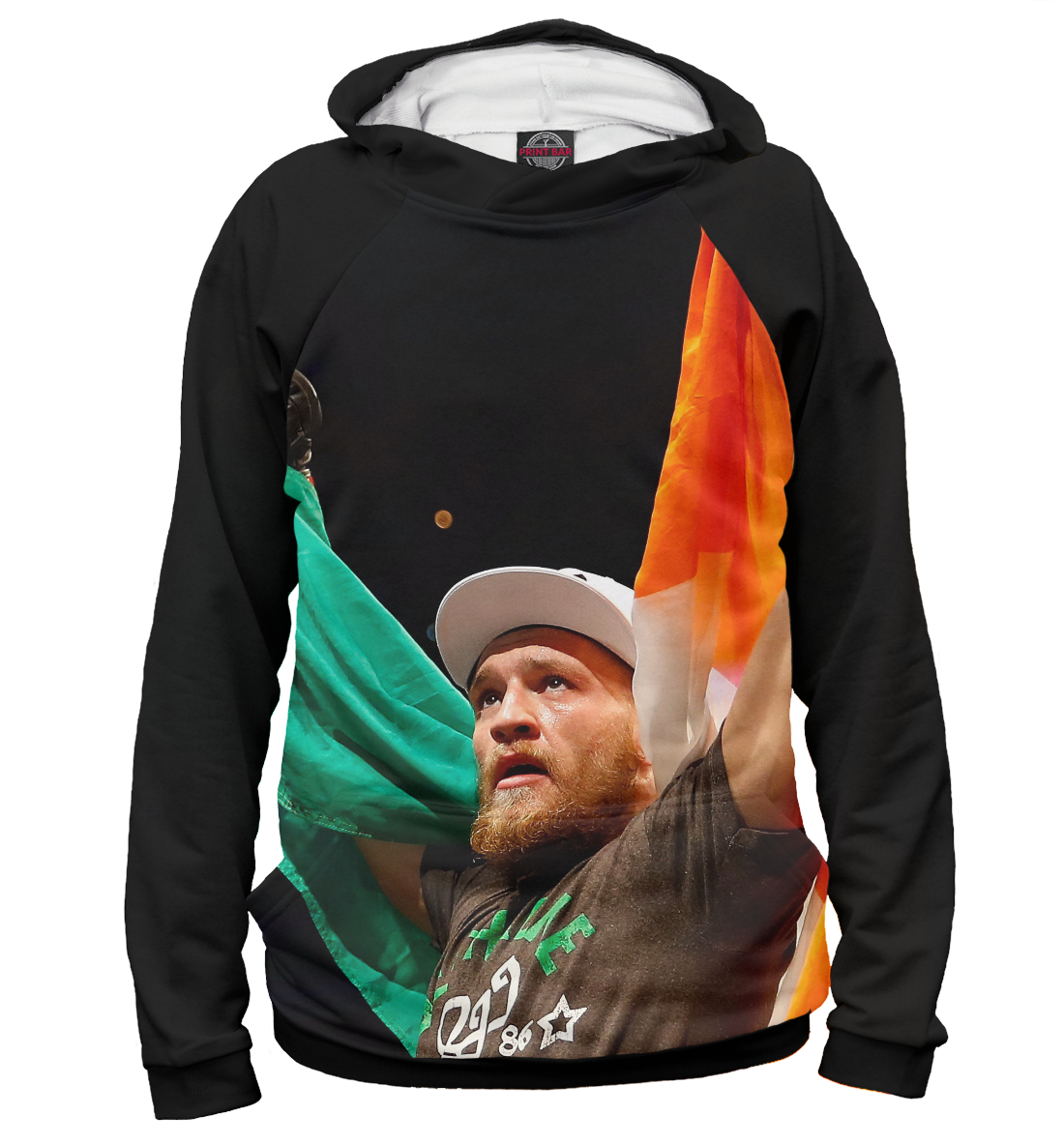 Купить Conor McGregor, Printbar, Худи, MCG-743331-hud-2