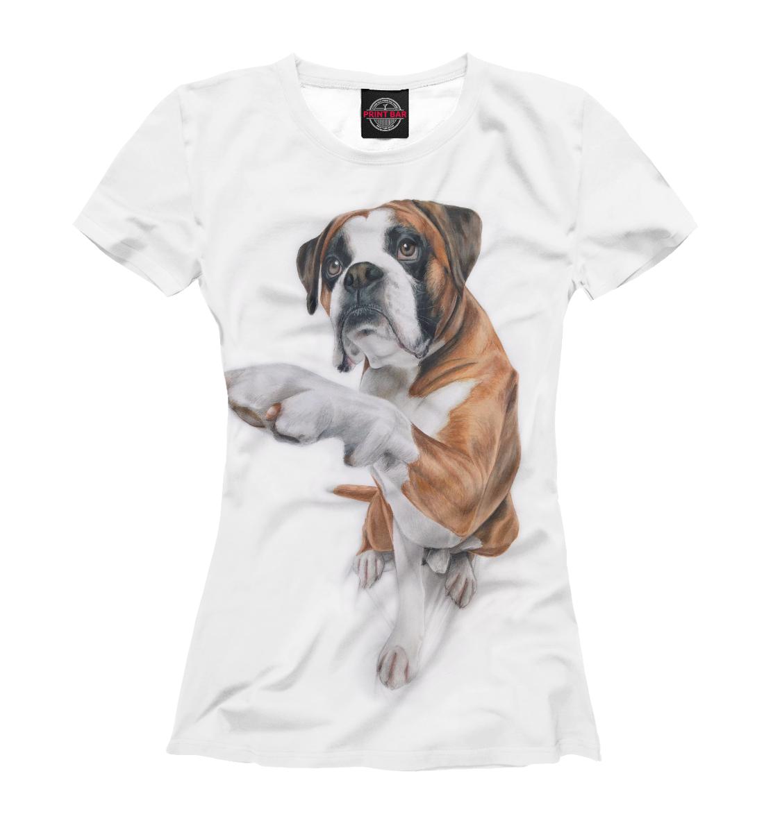 Купить Дай лапу, Printbar, Футболки, DOG-984445-fut-1