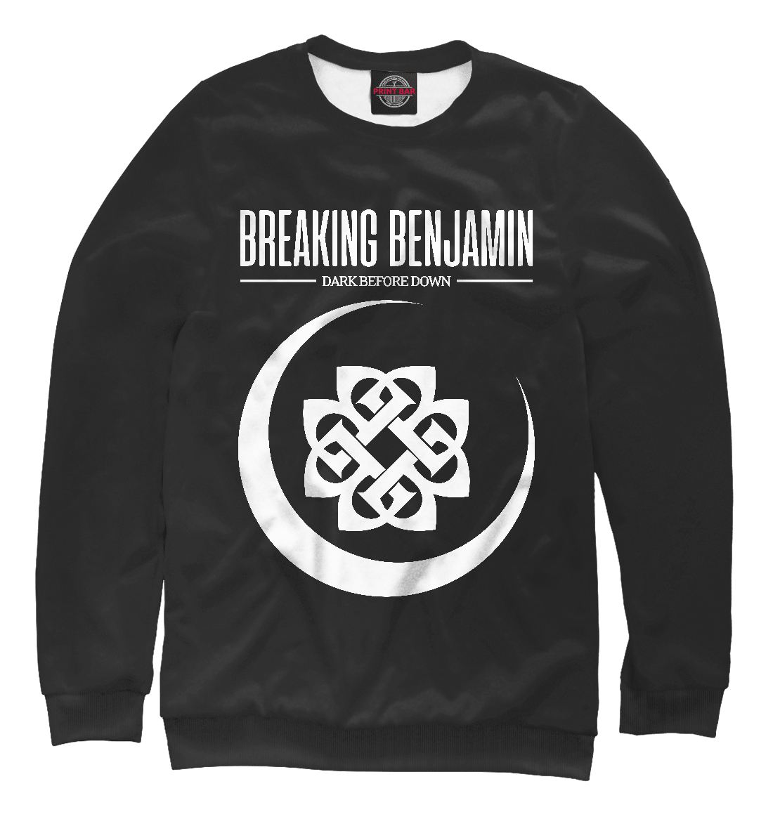Купить Breaking Benjamin, Printbar, Свитшоты, MZK-942225-swi-2