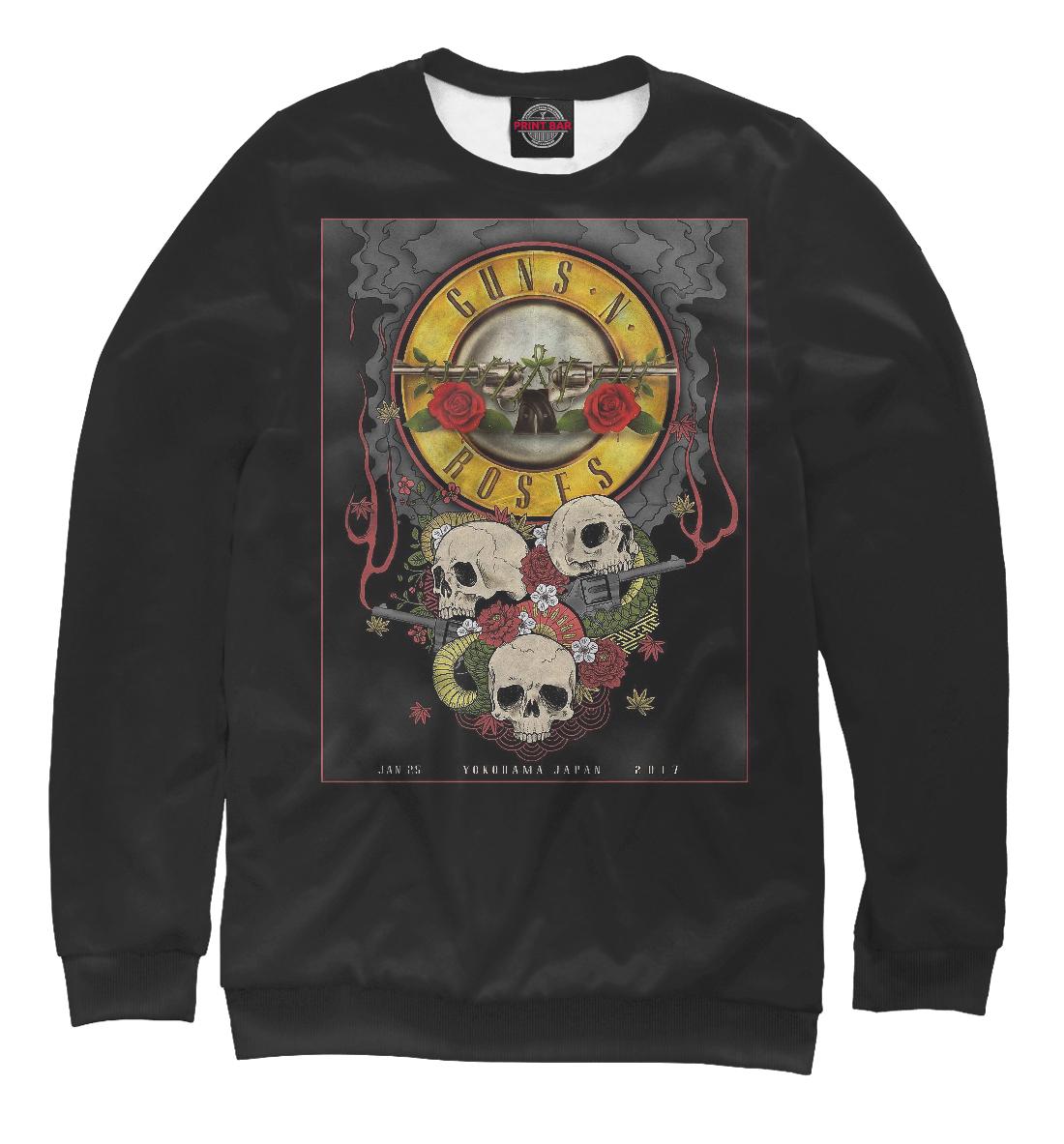Купить Guns N' Roses band, Printbar, Свитшоты, GNR-232757-swi-2