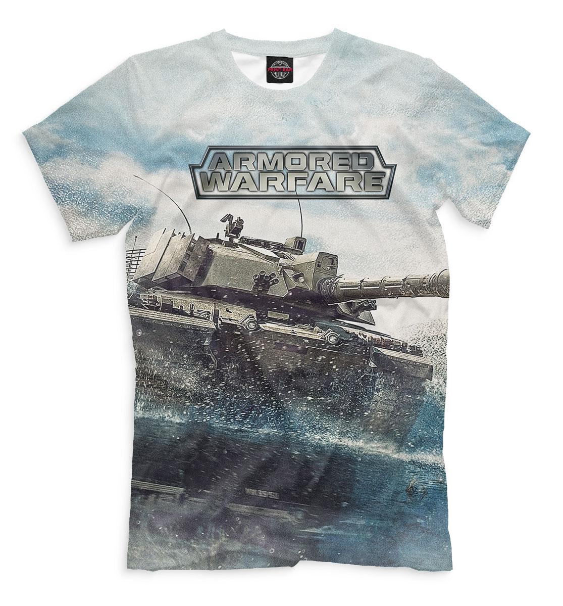 Купить Armored Warfare, Printbar, Футболки, ARW-391067-fut-2