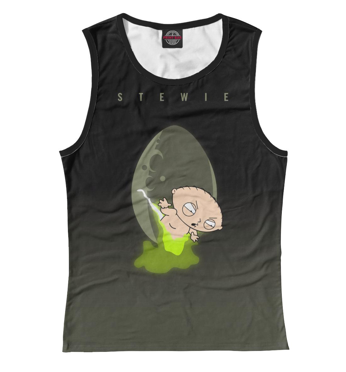 Купить Stewie Griffin Alien, Printbar, Майки, FAM-452530-may-1